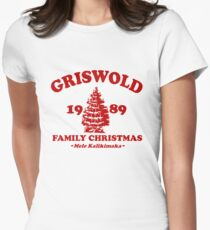 Griswold Family Christmas 1989 Women's Fitted T-Shirt