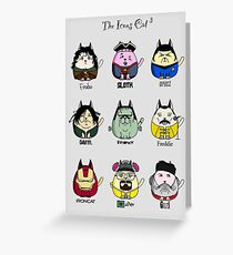 The Icons Cat vol.3 Greeting Card