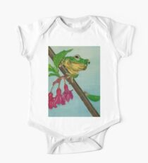 a peaceful frog One Piece - Short Sleeve