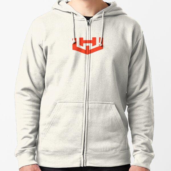 Workhorse Minimal Logo - WKHS  Zipped Hoodie