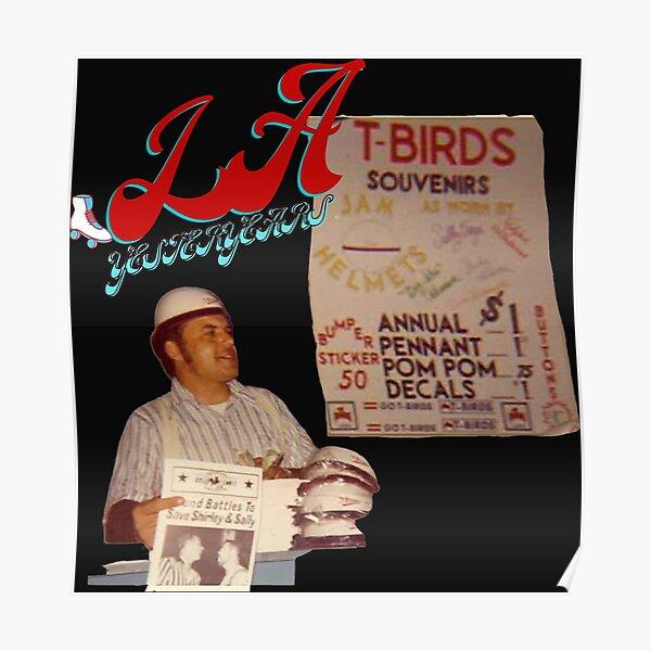 Los Angeles Tbirds Vintage Souvenirs  Poster