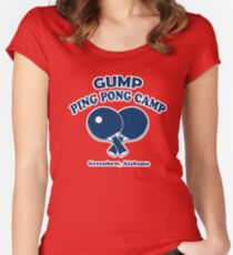 Gump Ping Pong Camp Women's Fitted Scoop T-Shirt