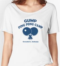 Gump Ping Pong Camp Women's Relaxed Fit T-Shirt