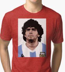 Maradona - best soccer player Tri-blend T-Shirt