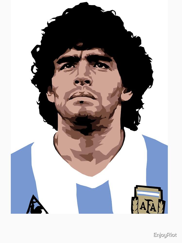 Maradona - best soccer player by EnjoyRiot