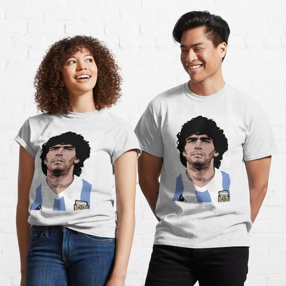Maradona - best soccer player Classic T-Shirt