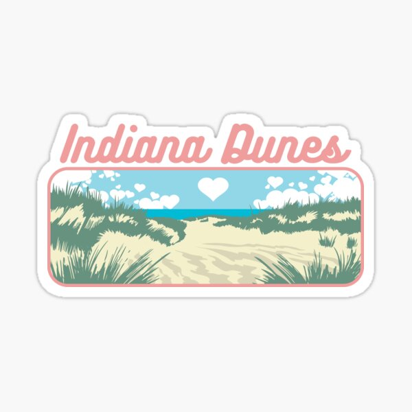 Love the Dunes Sticker