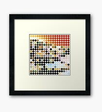 LED ZEPPELIN, BENDAY DOTS, HOUSES OF THE HOLY Framed Print