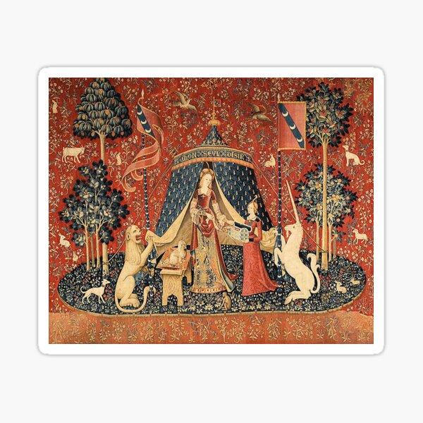The Lady and the Unicorn: La Dame à la licorne Sticker