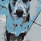 Catahoula Catawhat Leopard Dog by Casey Virata