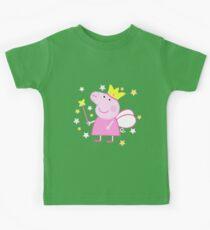 Peppa Fairy Schwein Kinder T-Shirt