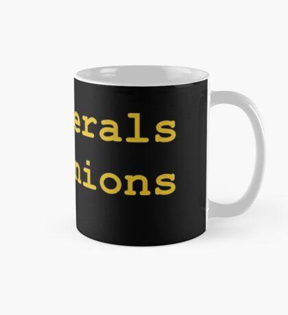 10 Liberals, 15 Opinions (Orange) Mug