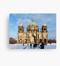 Berlin Cathedral 001, Berliner Dom Canvas Print