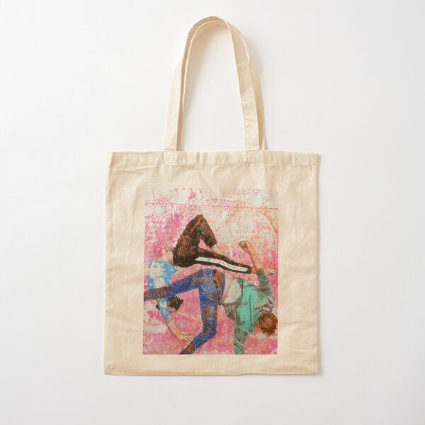 Aerial ballet Cotton Tote Bag