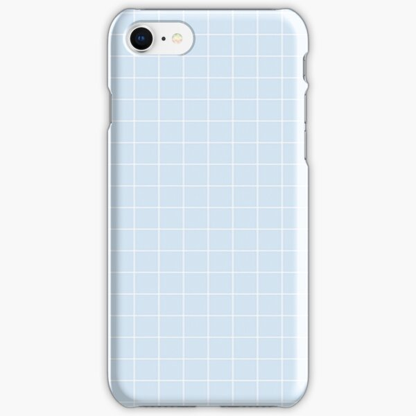 Blue Aesthetic Grid  iPhone Snap Case