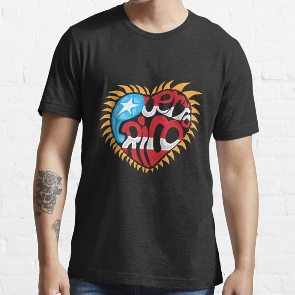 Corazon de Puerto Rico Essential T-Shirt