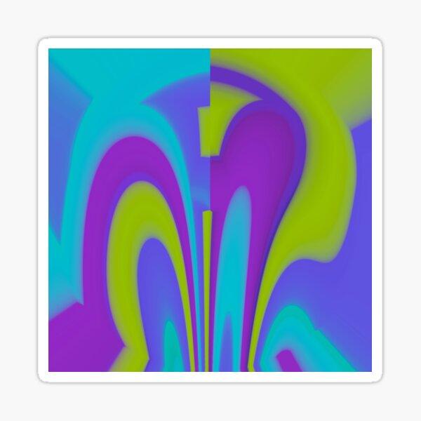 Colorful magic Sticker
