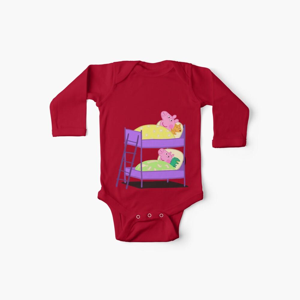 Peppa Pig Bett Zeit Baby Body