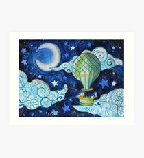 Journey to the Stars Art Print
