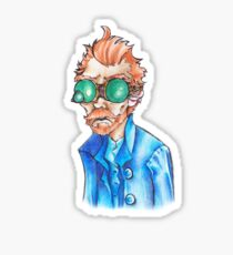 Vincent Van Goggles Sticker