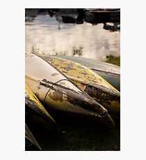 Old Canoes - Advertising Photography Photographic Print