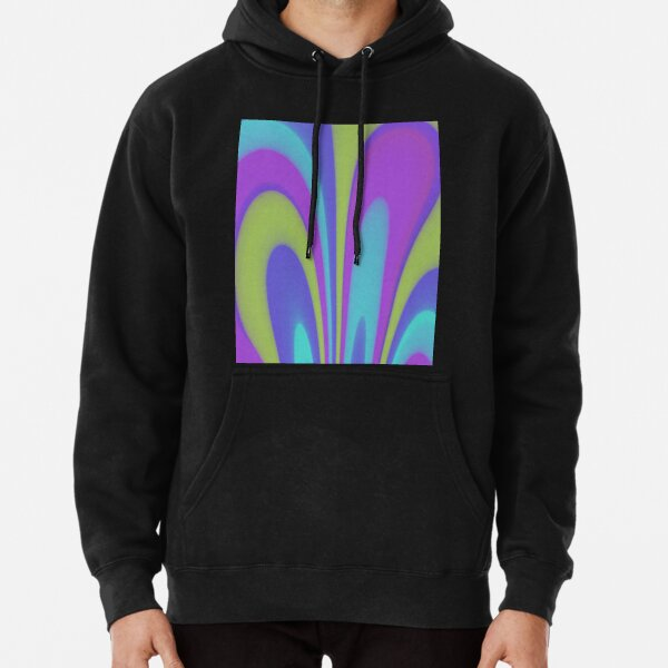Light Colorful magic Pullover Hoodie