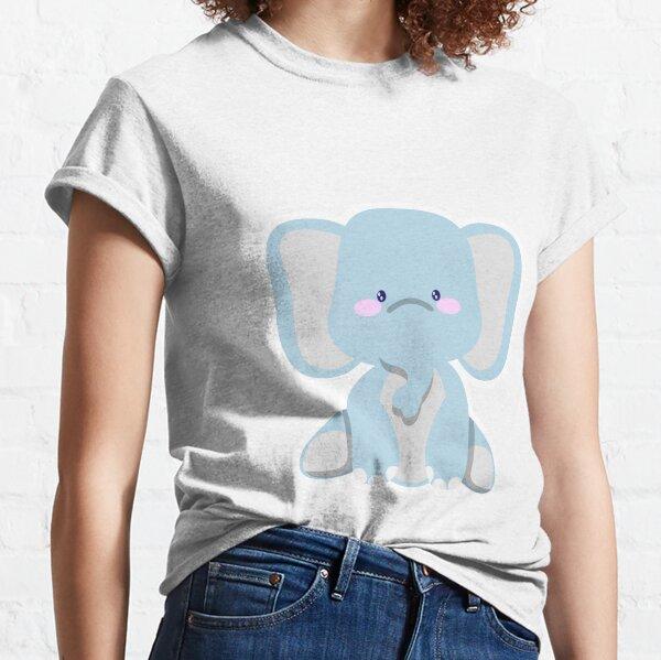 a little pretty elephant T-shirt classique