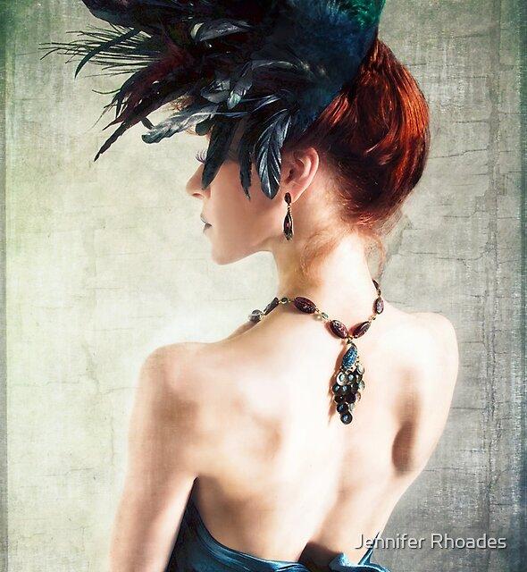 Madame Pfau II von Jennifer Rhoades