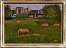 """""""A Little Bit of Country"""" ... with a canvas and framed presentation, for prints and products by Bob Hall©"""