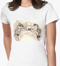 Cute Cartoon Flying Penguin T-Shirt