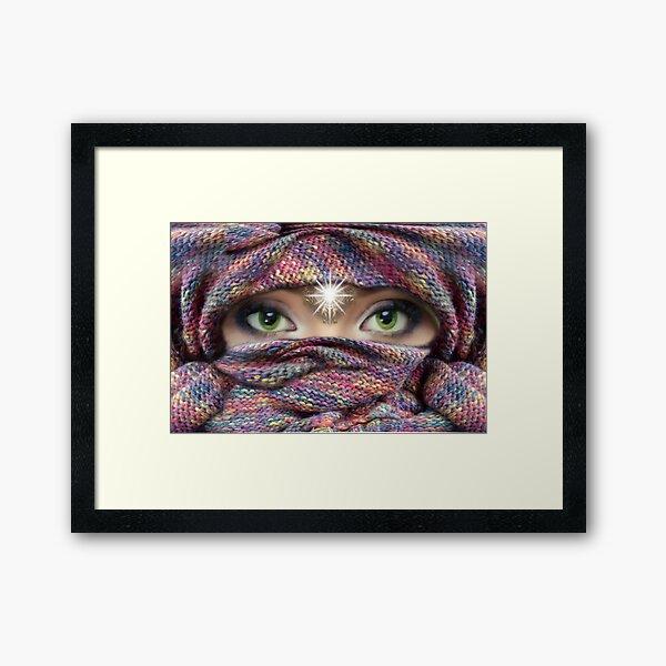 I see you. Framed Art Print