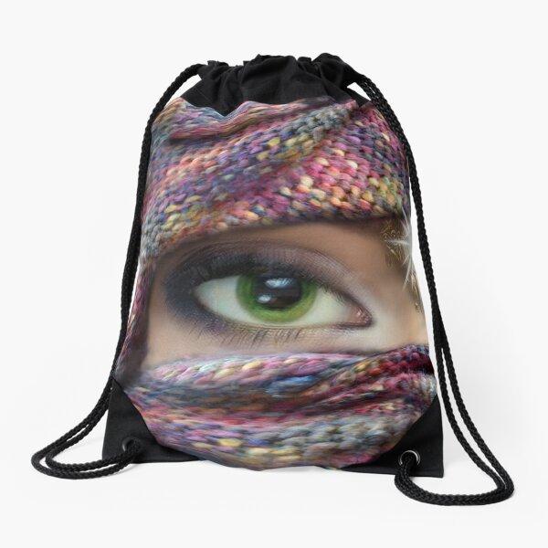 I see you. Drawstring Bag
