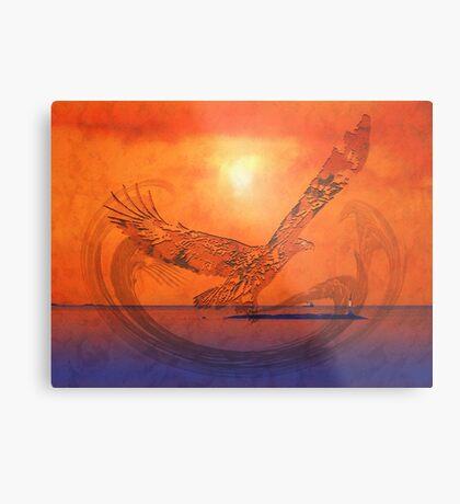 Spirit Eagle - Anpiel Metal Print