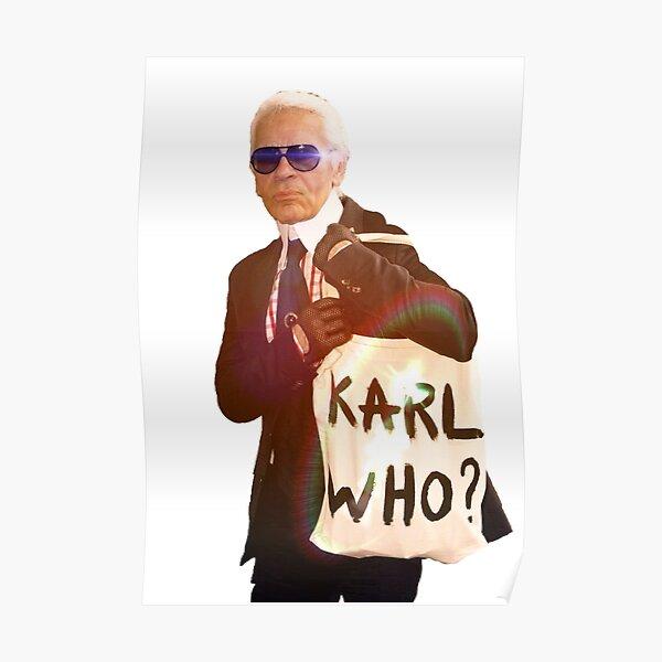 Karl Lagerfeld- Karl qui Poster