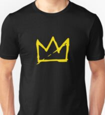 Yellow BASQUIAT CROWN T-Shirt