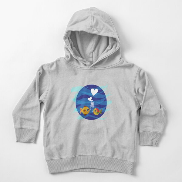 Love under the sea Toddler Pullover Hoodie