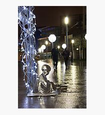 #PleaseLookAfterMe Ice Sculptures - Liverpool Photographic Print