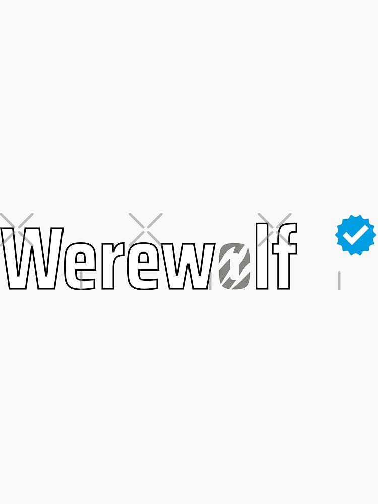 Verified Werewolf by a-golden-spiral