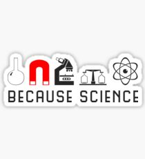 Because Science Sticker