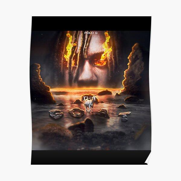Polo G The Goat Deluxe Alternate Album Cover Design (Fan Art) Poster
