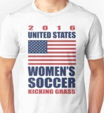 United States Kicking Grass T-Shirt