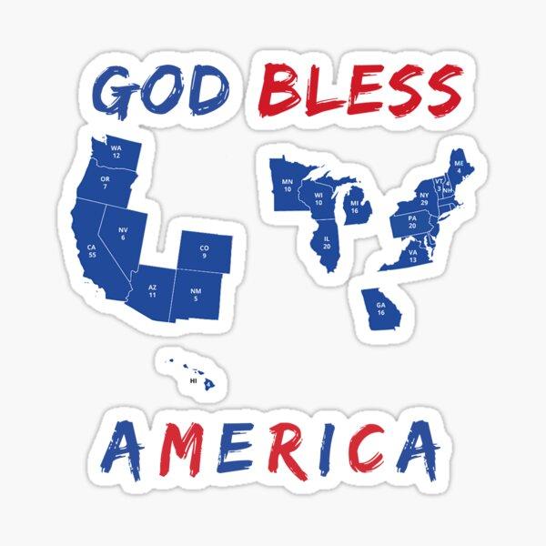God Bless America (2020 Update) Sticker