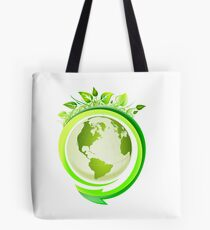 Earth Nature Ecology Tote Bag