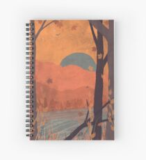 Autumn in the Gorge... - Full Spiral Notebook