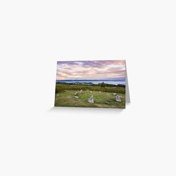 Birkrigg Stone Circle Greeting Card