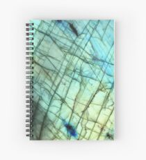 Labradorite  Spiral Notebook