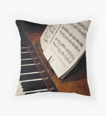 A Little More Music Throw Pillow