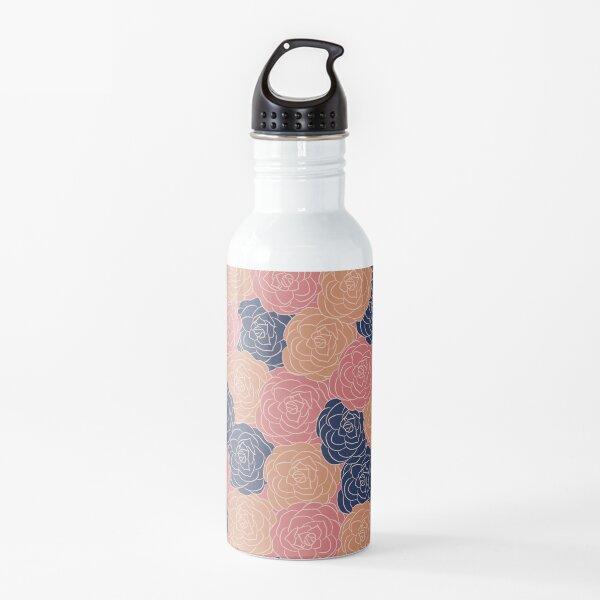 flower dreams, floral pattern Water Bottle