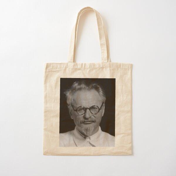Lev Davidovich Bronstein, better known as Leon Trotsky, Revolutionary Cotton Tote Bag