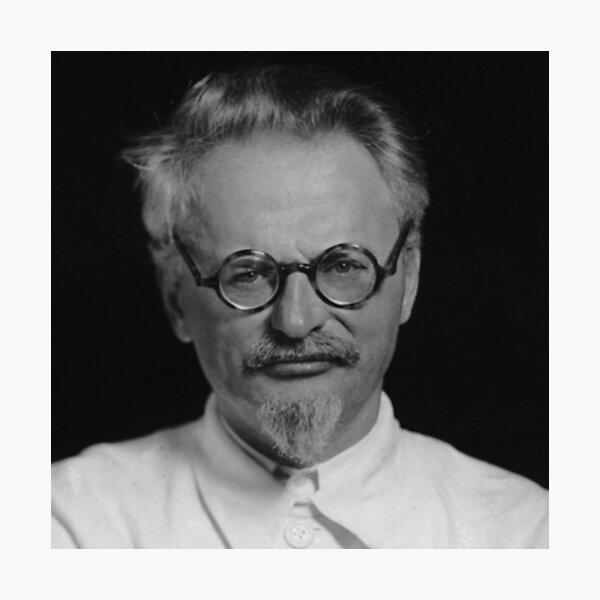 Lev Davidovich Bronstein, better known as Leon Trotsky, Revolutionary Photographic Print